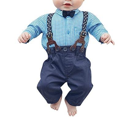 Amazon.com: hoared ropa de boda Set Kids Infant bebé camisa ...