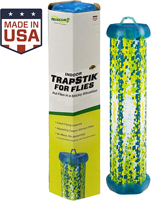 RESCUE Indoor Non-Toxic TrapStik for Flies