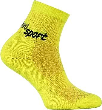 Rainbow Socks - Niñas y Niños Calcetines de Deporte Neon