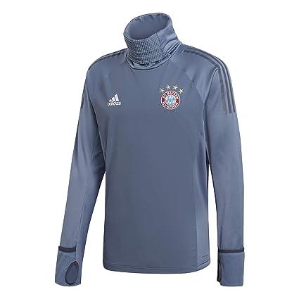 a419f41309f Amazon.com : adidas 2018-2019 Bayern Munich UCL Warm Up Top (Grey) : Sports  & Outdoors