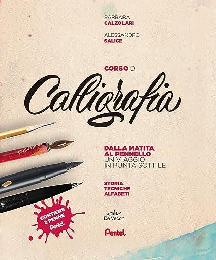 Pentel SES15 cofanetto Corso di Calligrafia