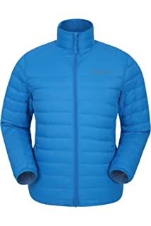 6e5e85057a9 Mountain Warehouse Featherweight Mens Down Jacket - Lightweight Winter  Coat