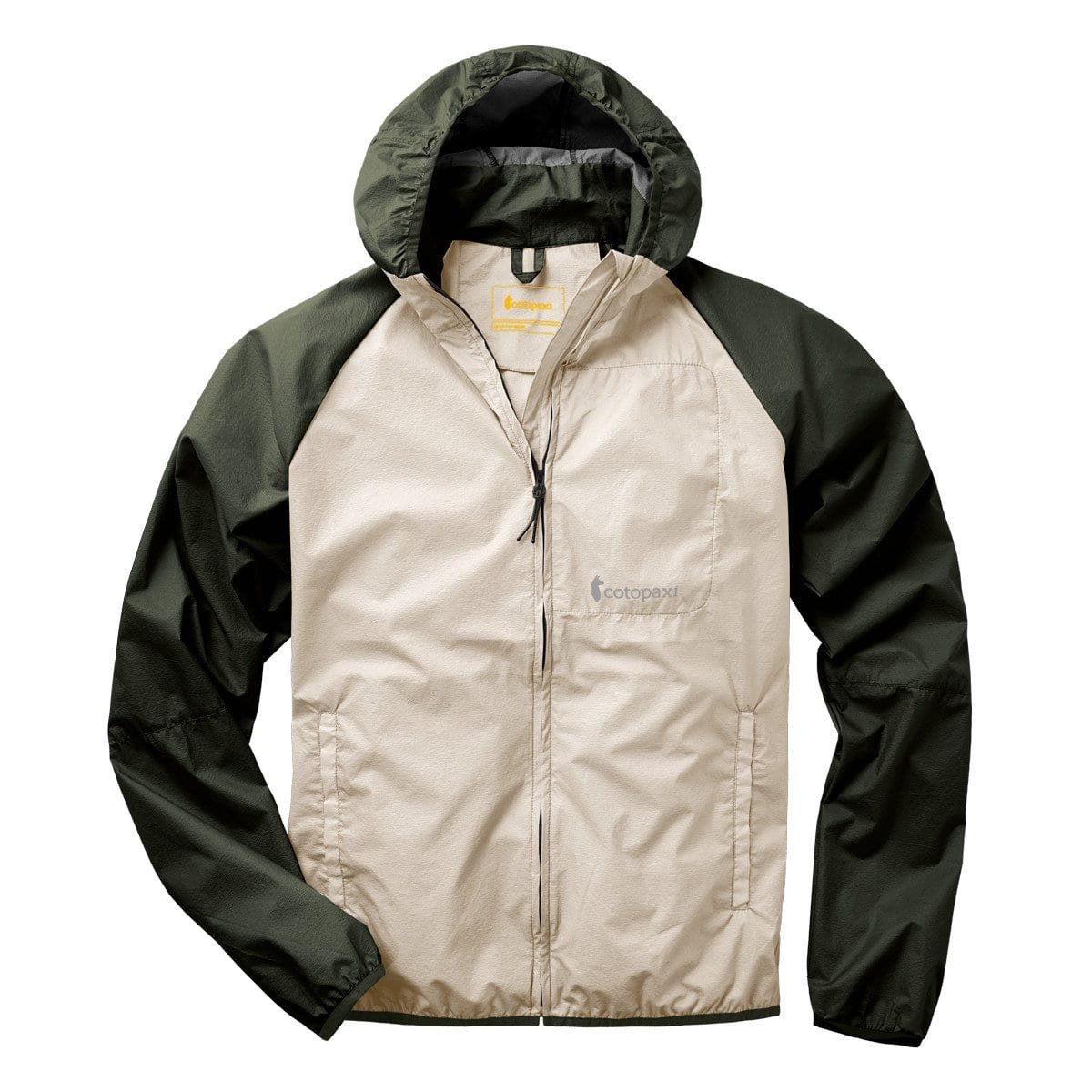 Cotopaxi Paray Lightweight Jacket - Men's - L/Cream/Cargo by Cotopaxi