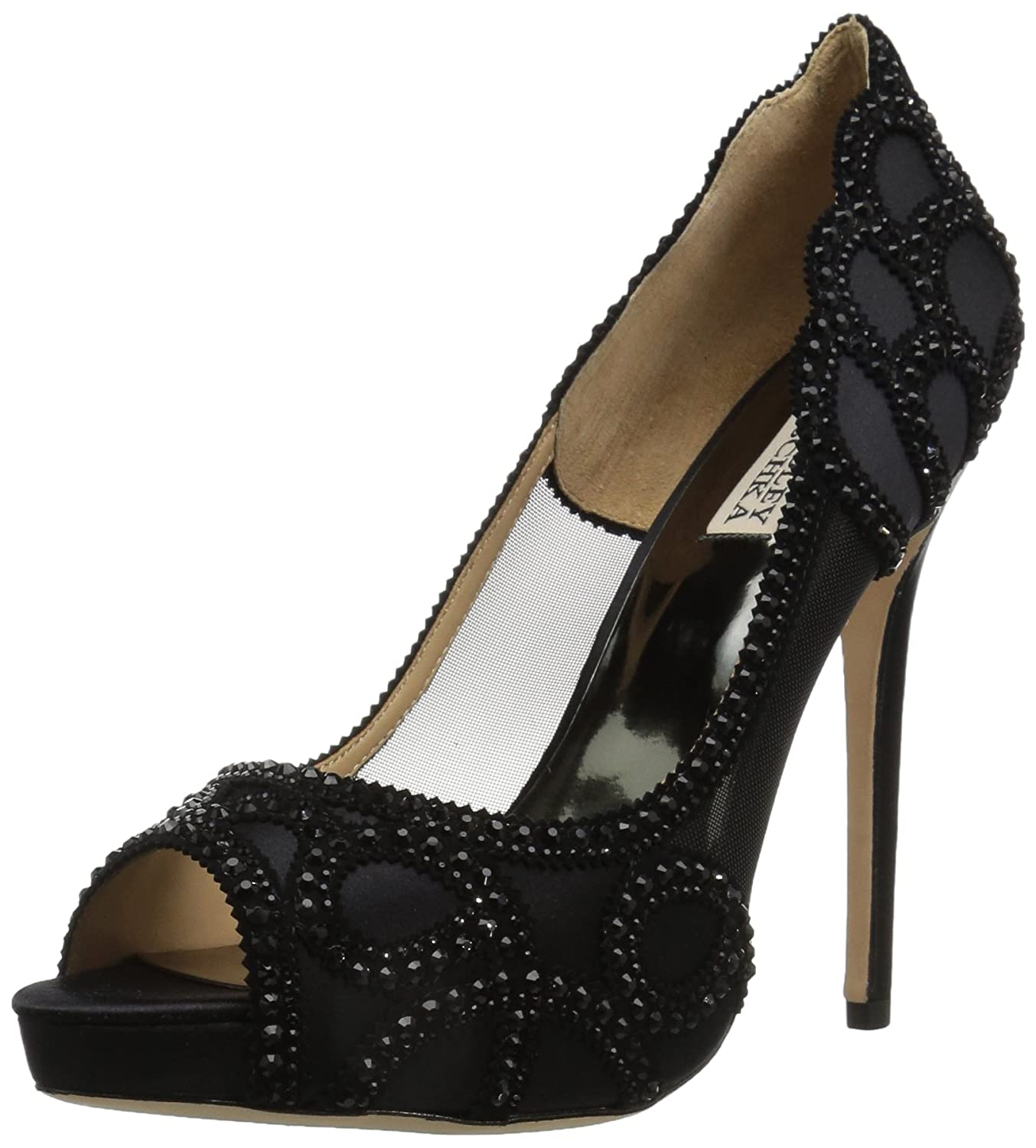 Badgley Mischka Women's Witney Pump B073CWF4PL 9 B(M) US|Black