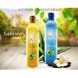Shampoo Sabiway Kit For Oily Hair - Cabello Graso
