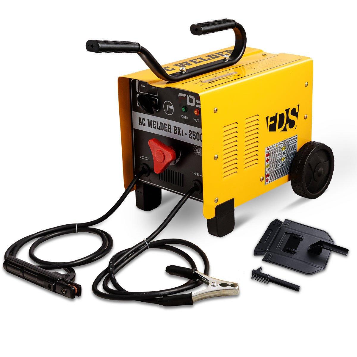 Goplus Arc Welder Welding Machine 250 Amp 110v 220v Soldering On Gun Or Cables And Welders Transformer Accessories Tools