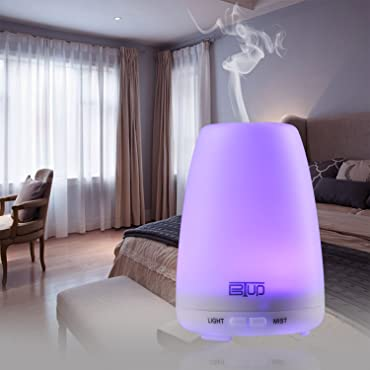 BTUP Ultrasonic Cool-mist Essential Oil Diffuser