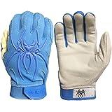 Spiderz Adult ENDITE Batting Glove Premium Textured 1 Piece Leather Palm