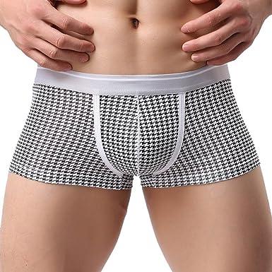 65719a572d9 HARRYSTORE Men Trunks Sexy Underwear Men s Boxer Briefs Shorts Bulge Pouch  soft Underpants ...