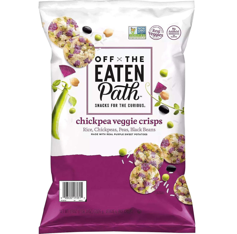 Off The Eaten Path Chickpea Veggie Crisps (19 Oz.), 19 Oz