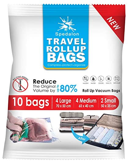 Spedalon 8 Variación al vacío (10 bolsas de viaje)