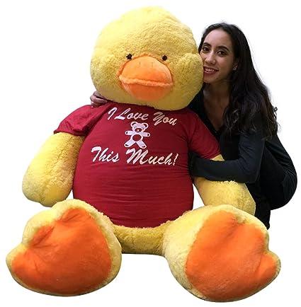 Buy Giant Stuffed Duck 60 Inches Soft 5 Feet Tall Big Plush Animal