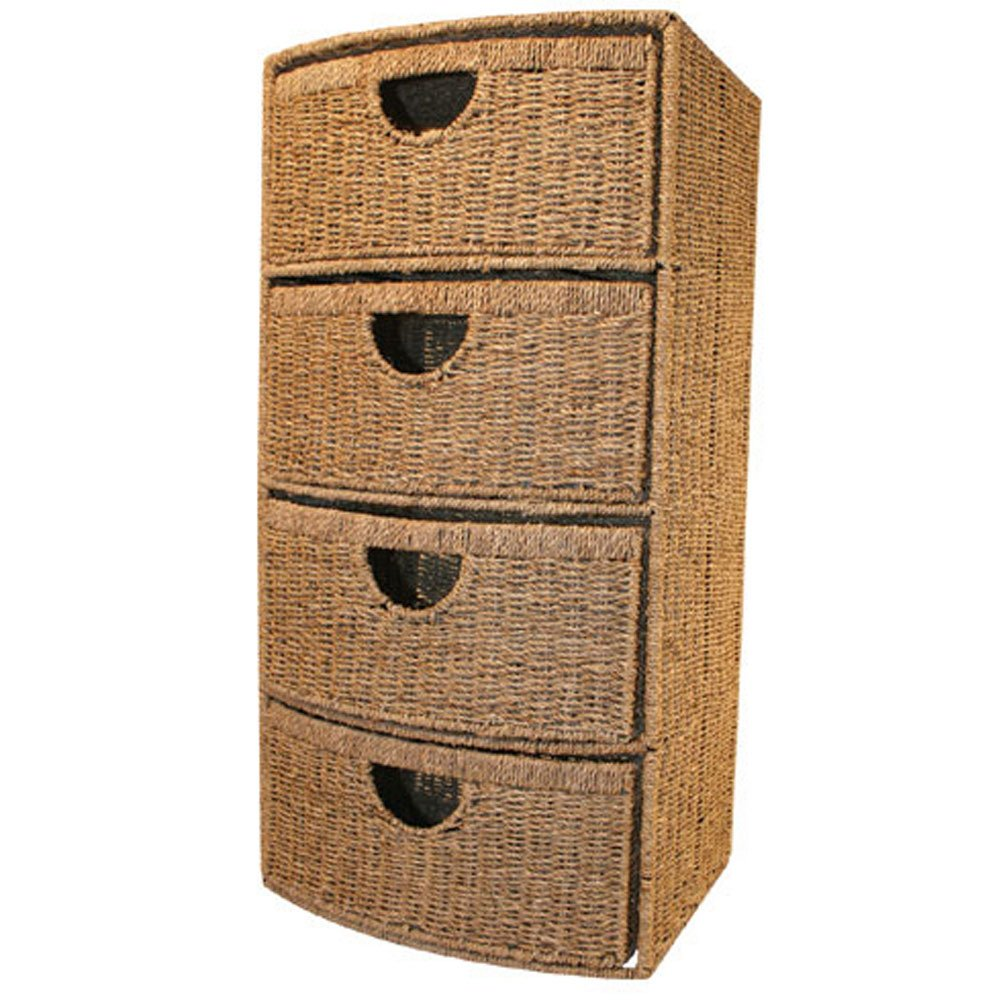 SeaGrass 4 Drawers Storage Unit