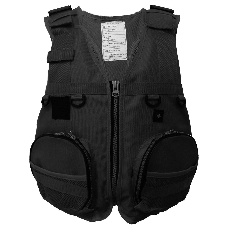 プレミアム品質ソフトLifejacketフローティングライフジャケットライフベスト釣り/ Boatingベスト   B073L4VZLY