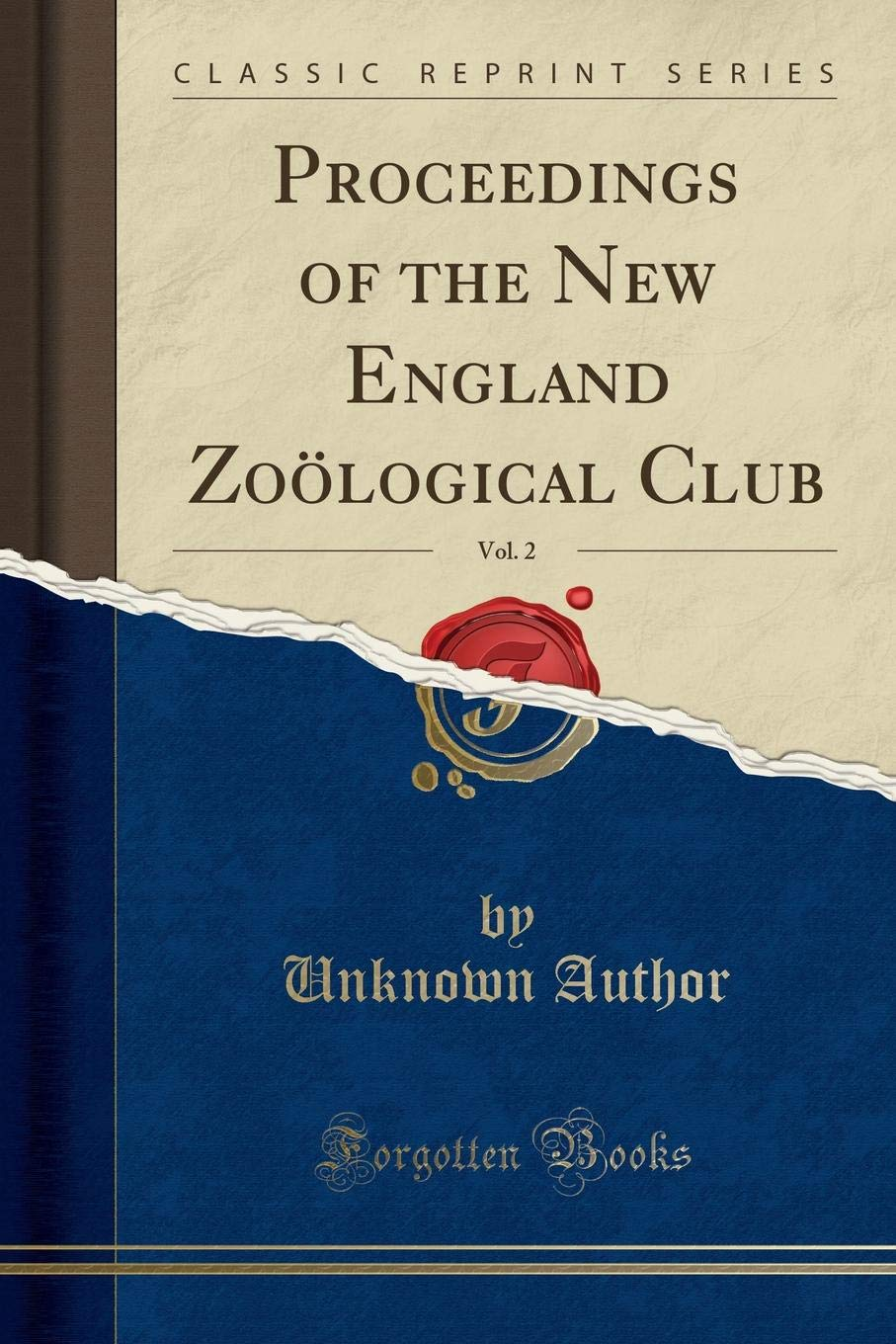 Download Proceedings of the New England Zoölogical Club, Vol. 2 (Classic Reprint) pdf epub