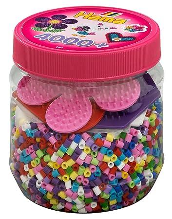 Bügelperlen Dose Mit Ca Hama 2052 4000 Perlen Und Zubehör