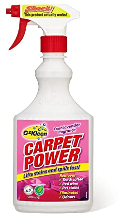 OzKleen limpiador de alfombras Carpet Power de 500 ml.: Amazon.es: Alimentación y bebidas