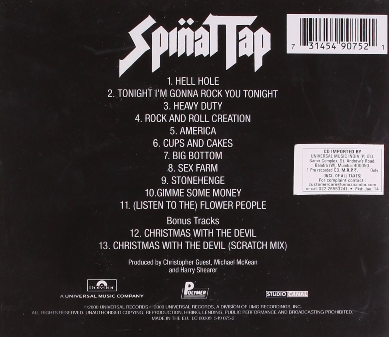 Think, what Spinal tap sex farm lyrics would you