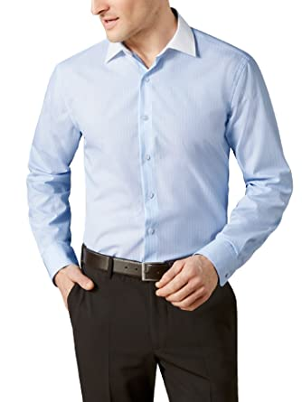 Walbusch Herren Hemd Bügelfrei-Hemd Milano-Streifen Regular Fit gestreift   Walbusch  Amazon.de  Bekleidung 1d7c341d41