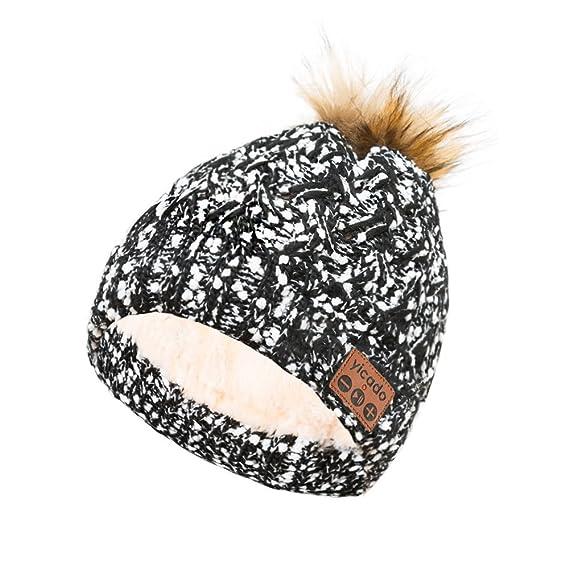 1df7551efc3 Bluetooth Beanie Hat Earbud Wireless Headphone Headset Earphone  Speakerphone Wireless Hands-Free Hat Sport Knit