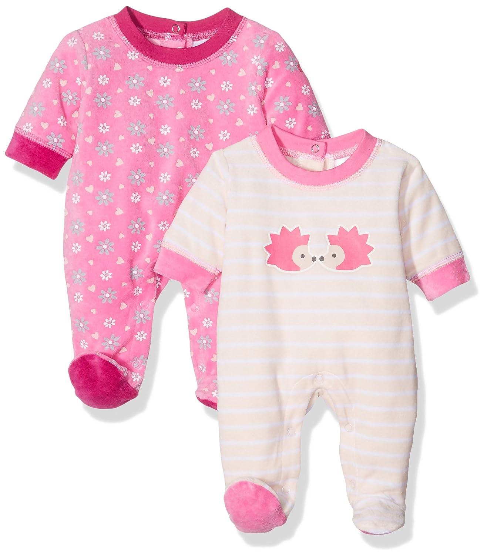 Care Baby-M/ädchen Schlafstrampler 2er Pack