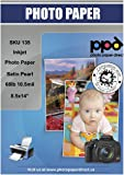 """PPD Inkjet Satin Pearl Super Premium Photo Paper Legal 8.5 x 14"""" 68lbs 255gsm 10.5mil X 50 Sheets (PPD135-50)"""