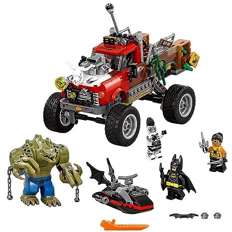 Amazon.com: LEGO Batman Movie Killer Croc Tail-Gator 70907: Toys & Games