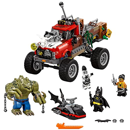Amazon.com: LEGO Batman Movie Killer Croc Tail-Gator 70907: Toys ...