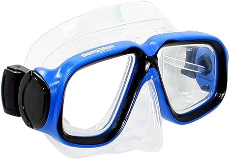 4e58580115f Deep Blue Gear Kids Diving Snorkeling Mask (Maui Jr.) with Optical  Corrective Lenses