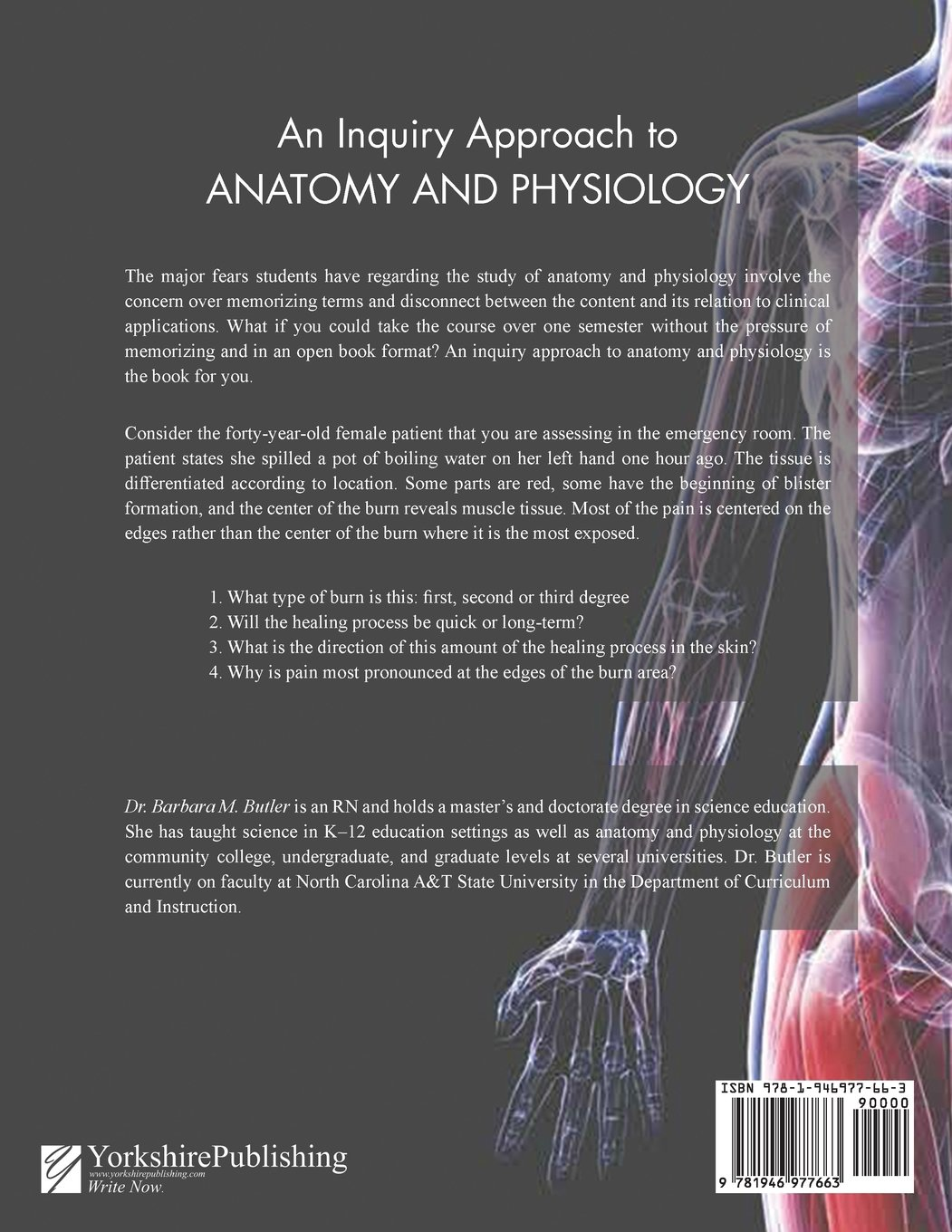 An Inquiry Approach to Anatomy and Physiology: Barbara Butler:  9781946977663: Amazon.com: Books