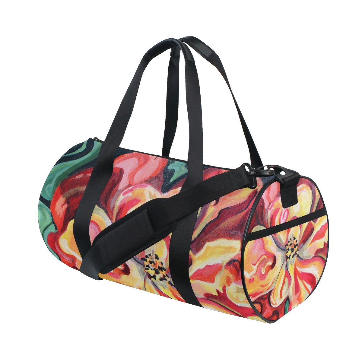 Flower Painting Sports Bag