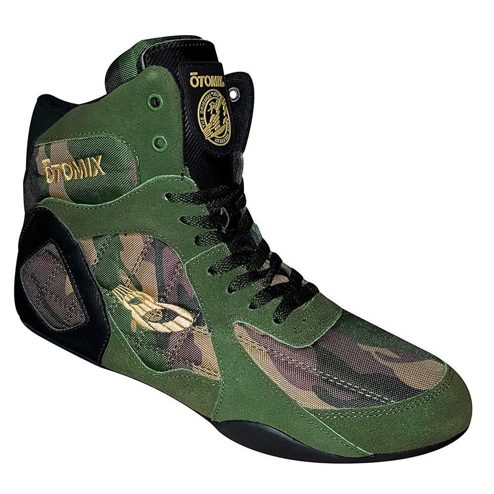 OTOMIX Ninja Warrior Fitness Bodybuilding MMA Schuh Sneaker High Tops Camo Black EU44
