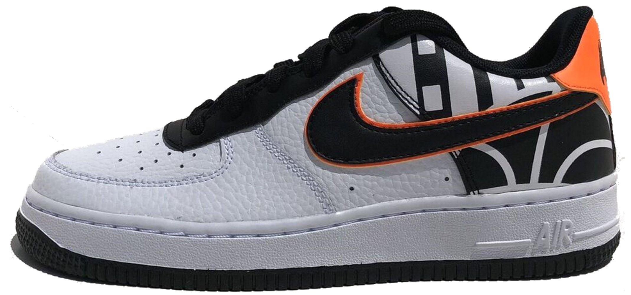 Nike Air Force 1 LV8 (Kids) (5.5 M US Big Kid, White/Black)