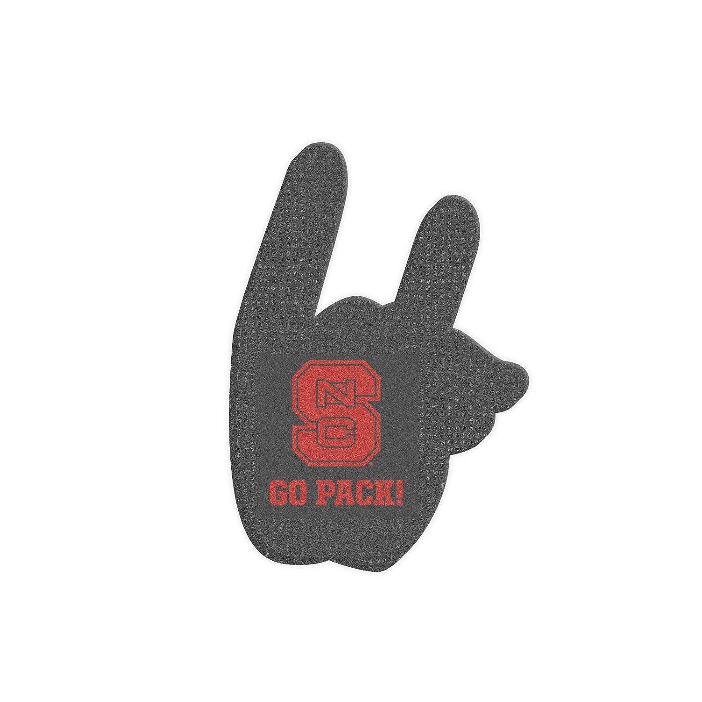 Root Sportswear North Carolina State University NC State Wolfpack Wolfie Hand Sign Foam Hand//Foam Finger