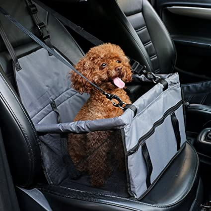 Amazon Henweit Car Booster Seat For Dog Cat Travel. Henweit Car Booster Seat For Dog Cat Travel Safety Cover With Belt Harness. Seat. Seat Belt Harness Zipper At Scoala.co