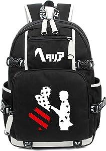 Siawasey Japanese Anime Cosplay Bookbag Backpack Shoulder Bag School Bag