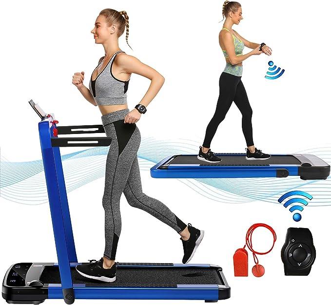 Treadmill Under-Desk Walking Treadmill Jogging Elliptical w//Remote Control 220V