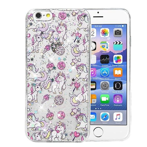 Amazon com: iPhone 6s Plus Case, iPhone 6 Plus Case, MOTIKO Glitter