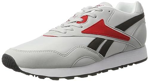 Reebok Rapide Mc90, Zapatillas para Hombre, (LGH Solid Grey/Coal / Primal Red/White / Black), 41 EU: Amazon.es: Zapatos y complementos