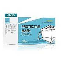 Kingfa KN95 Face Mask Non-NIOSH Respirator 5-Ply Layer, 50/pcs Box | GB2626-2006 Compliant