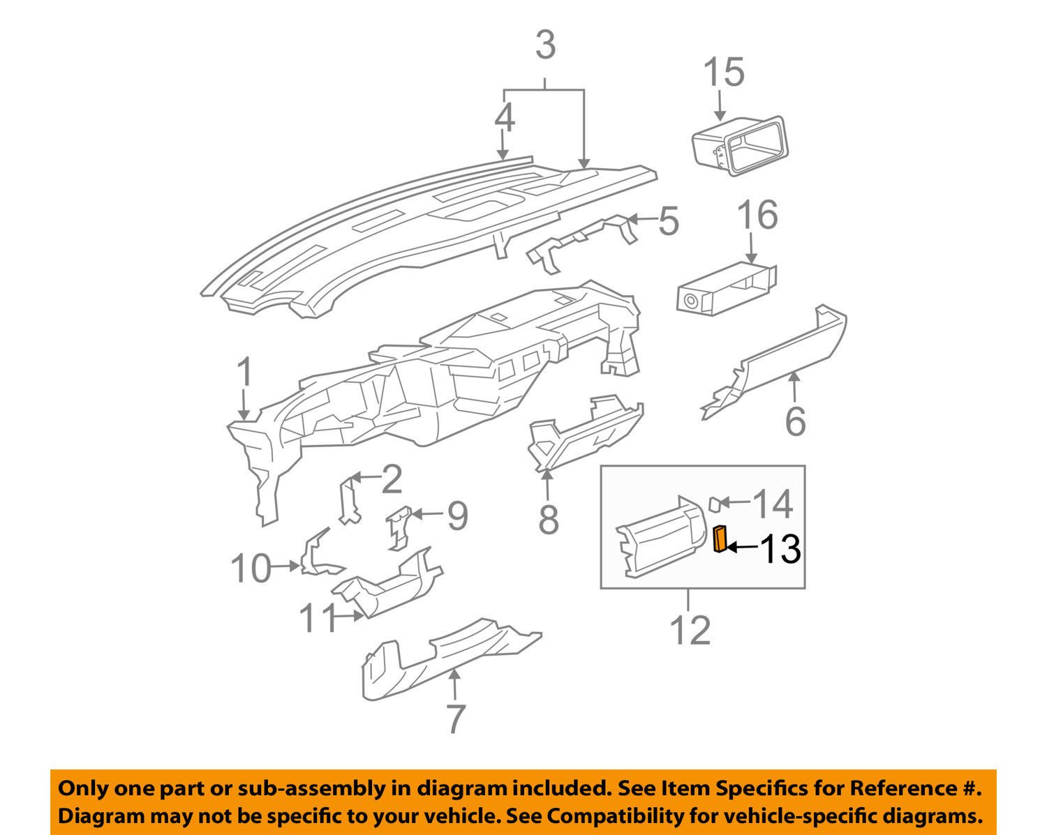 Genuine GM Outlet Part# - 23135645