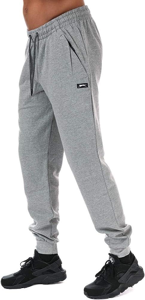 Slazenger - Pantalón Deportivo - para Hombre Gris Gris: Amazon.es ...