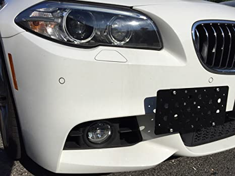 Tow Hook License Plate Bracket For BMW 2 Series F22 2014 2015 2016 3 Series F30 & Amazon.com: Tow Hook License Plate Bracket For BMW 2 Series F22 2014 ...