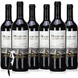 【原瓶进口庄园酒 口味纯正】兰萨庄园干红葡萄酒(佳美娜)750ml*6瓶 智利进口红酒(送海马刀)亚马逊配送