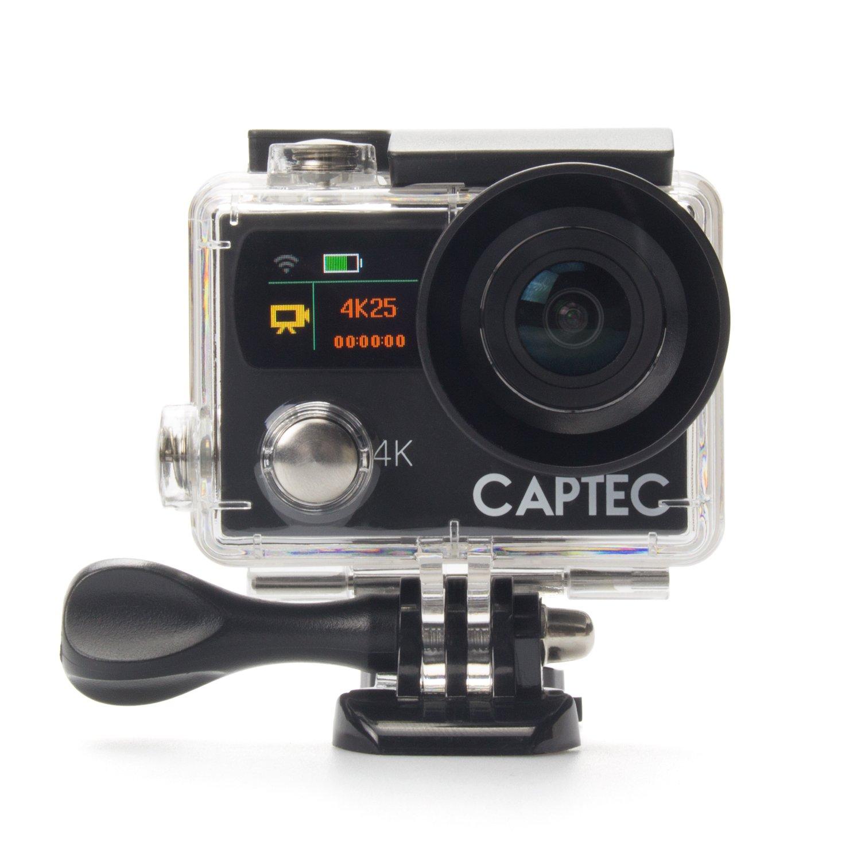 Captec Capture 5アクションカメラ - ブラック   B06WP68CHW