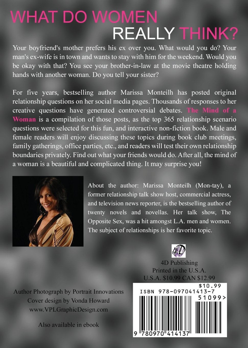 The mind of a woman 365 relationship scenario discussion the mind of a woman 365 relationship scenario discussion questions marissa monteilh 9780970414137 amazon books fandeluxe PDF
