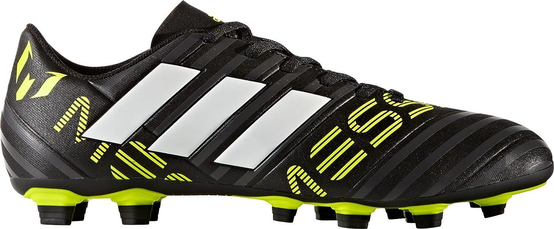 adidas APPAREL メンズ B07458MVFXブラック/ホワイト/イエロー 10 D(M) US