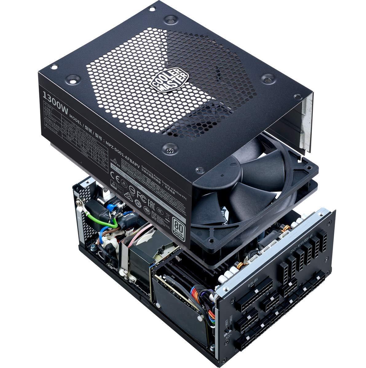 Cooler Master V1300 Platinum - Full-Modular 80 Plus Platinum Certified  Power Supply