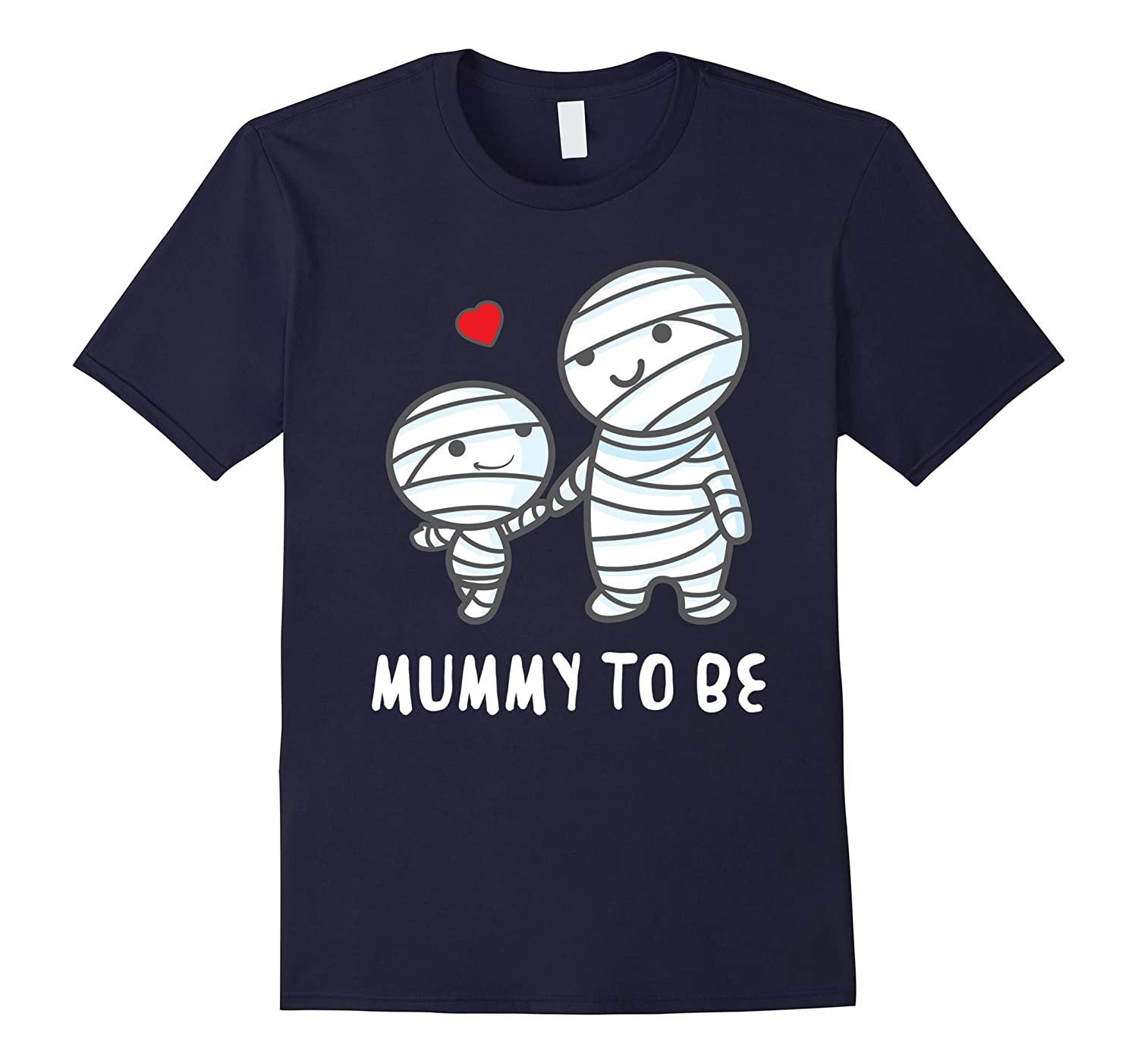'Mummy To Be' Funny Halloween Maternity Shirt-T-Shirt