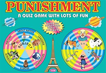Olympia Toys and Games Punishment Quiz Game
